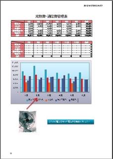 光熱費管理表